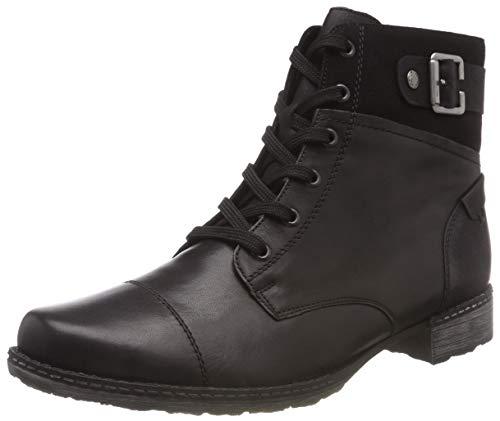 Remonte Damen D4368 Combat Boots, Schwarz (Schwarz 01), 38 EU