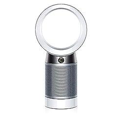 Dyson Pure Cool Tisch-Luftreiniger (mit 2 HEPA-Filtern und 2 Aktivkohlefilter, inkl. Fernbedienung und App-Steuerung, Ventilator und Luftreinigungsgerät mit Geruchs- und Schadstofffilter)