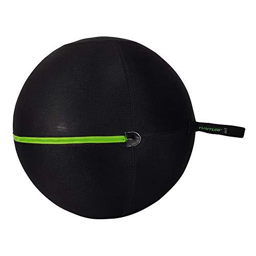 Tunturi - Funda para pelota (65 cm, cierre verde)