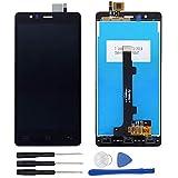 soliocial Completa Pantalla LCD + Táctil Digitalizador para BQ Aquaris E5 4G 0982 TFT5K0982FPC-A2-E Negro
