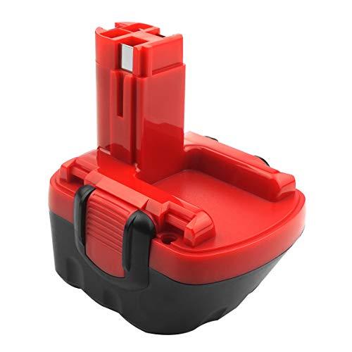 ADVNOVO 3,0Ah Ni-MH Ersatzakku für Bosch 12V BAT045 BAT043 BAT120 BAT139 2607335542 2607335526 2607335274 2607335709 für Bosch GSR 12-2 12VE-2 PSR 12 GSB 12VE-2 22612 23612 32612