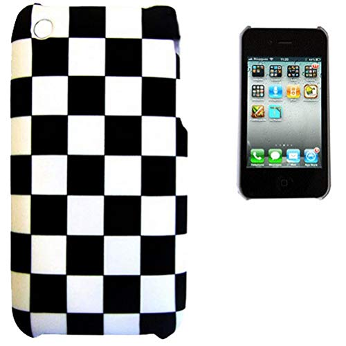 Kinghousse-Cover per Apple Iphone 3G/3GS, motivo a scacchi