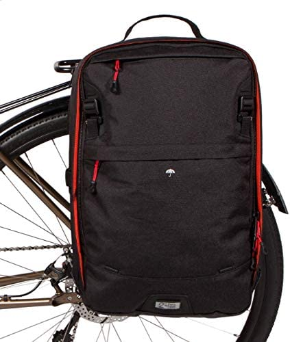 Two Wheel Gear Pannier Backpack Plus Water Resistant Everyday Laptop Backpack for Work Gym Travel product image