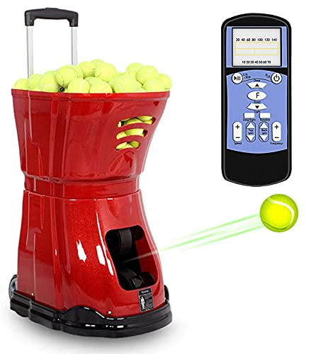 Tennisbal Machine, Tennisbal Gooien Machine Met Afstandsbediening Functie, Licht Tennisbal Gooien Machine Ondersteuning…