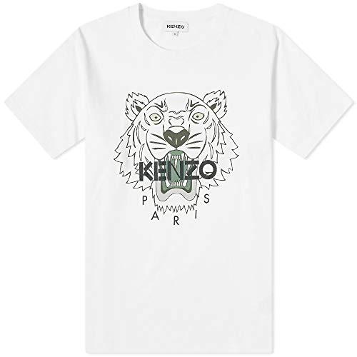 Kenzo T-Shirt Classic Tiger Bianco - M