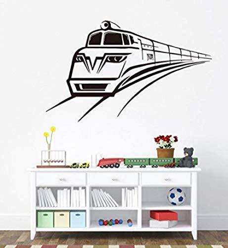 Apliques Decorativos Moda Locomotora Tren Vinilo Pegatinas De Pared Calcomanía Hogar Sofá Fondo Arte Papel Tapiz Diseño Decoración Niños Habitación Mural