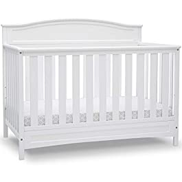 Delta Children Emery 4-in-1 Convertible Baby Crib,