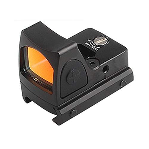 AJDGL Vista compacta de 3 Moa con Reflejo Abierto Táctico RMR Red Dot Alcance Reflex Mira electrónica de Pistola con Soporte