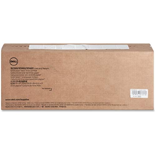 Dell M11XH OEM Toner - B2360d B2360dn B3460dn B3465dn B3465dnf Use and Return Toner (OEM# 331-9805) (8500 Yield) OEM
