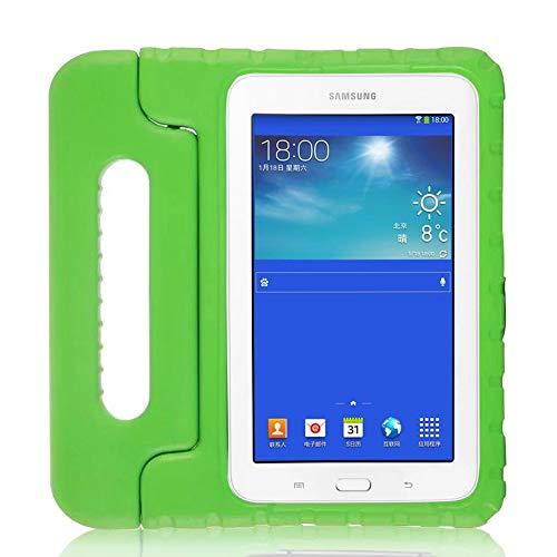 GHC PAD Fundas & Covers Para Samsung Galaxy Tab 3 Lite 7.0 T110 T113 T111 T116, Funda protectora de espuma con mango Niños Niños EVA Tapa de soporte a prueba de golpes para Samsung Galaxy Tab 3 Lite 7