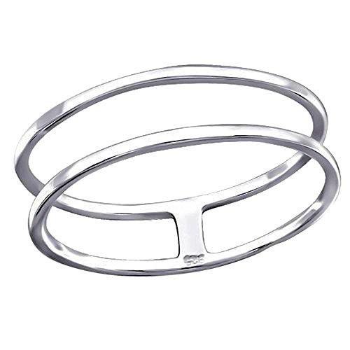 So Chic Joyas - Anillo línea circular falange Plata