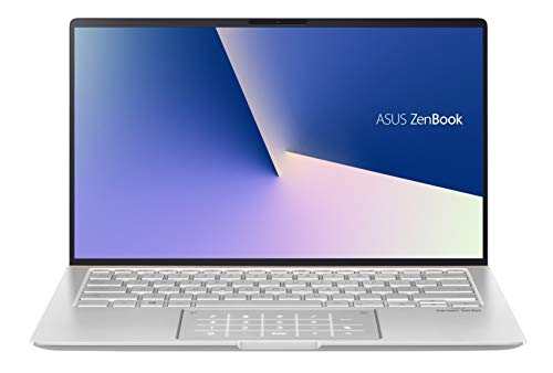 ASUS ZenBook 14 UX433FA-A5822TS Intel Core i5 10th Gen 14-inch FHD Thin & Light Laptop (8GB RAM/512GB PCIe SSD/Windows 10/MS-Office 2019/Integrated Graphics/1.26 Kg), Icicle Silver