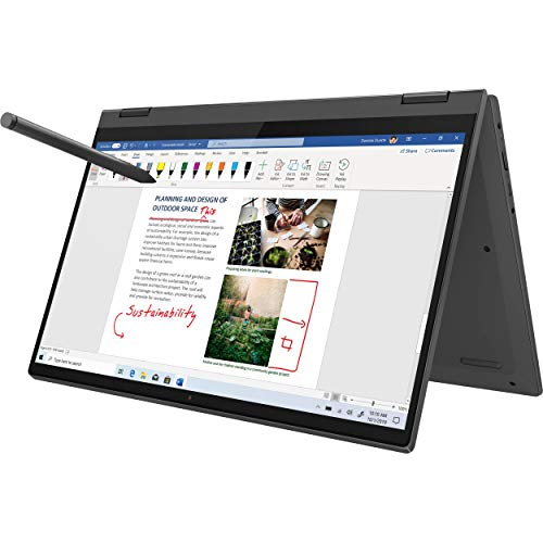 "Lenovo Flex 5-2-in 1 Touchscreen Computador Portátil, 14"" 1080p FHD, AMD Ryzen 7 4700U 8-Core, 16GB 3200MHz RAM, 1TB SSD, FP Reader, retroiluminado KB, USB-C, Webcam, Mytrix Ativo Pen, Win 10"