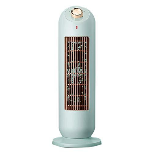 SHPEHP Portátil Calentador de Espacio,2000w Calefactor Eléctrico Hogar Oscilación Termoventilador Calentamiento rápido Pequeño Calefactor Vertical con Sistema Antivuelco-Verde Un