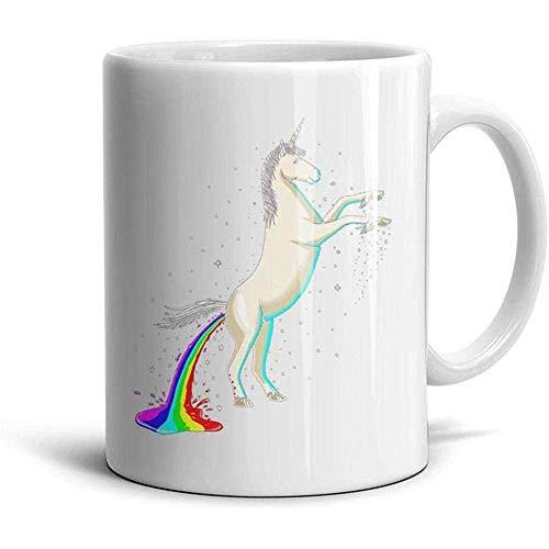 330ml Nette Regenbogen-Sonnenbrille.PNG Mans und Womens Coffee Mug Design Home Decor Cup