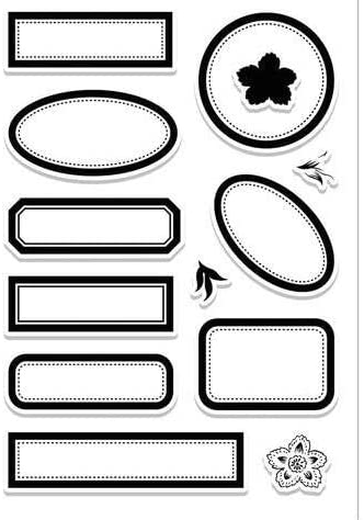 Label Transparent Clear New life sold out Silicone Stamp for Seal Scrapbooking DIY