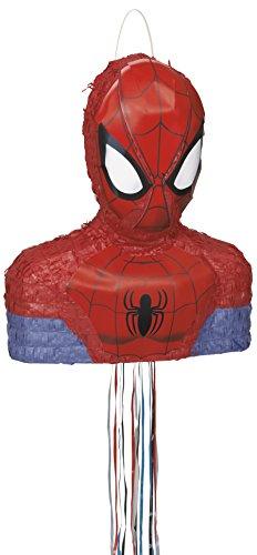 Pinata Spiderman Marvel Pull Pinata 3 D Spiel für Kindergeburtstag Party NEU