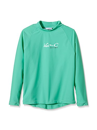 iQ-Company Kinder UV Kleidung 300 Langarm-Shirt, grün, Gr. 140/146