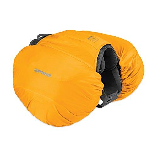 Ruffwear Wasserfeste Hülle für Hunde-Rucksack, Passend für ausgewählte Ruffwear Hunde-Rucksäcke, Größe: XS, Gelb (Sunrise Yellow), Hi & Dry Saddlebag Cover, 5040-715S2S1