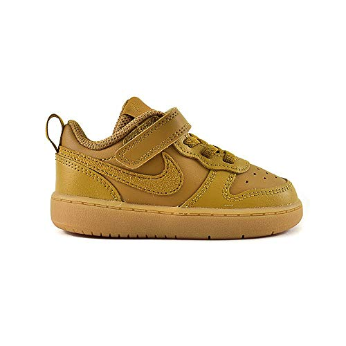Nike Court Borough Low 2 (TDV), Scarpe da Ginnastica Bimbo, Ruota Multicolore, 700, 25 EU