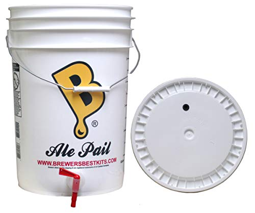 6.5 gallon Fermenting Bottling Bucket with Lid, Spigot, and Air Lock