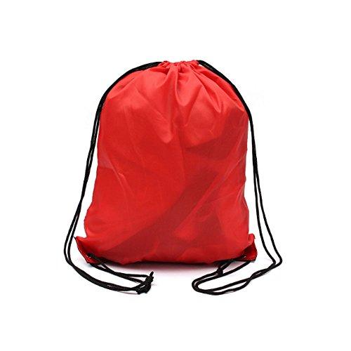 MOAEURO , Zainetto per bambini  Uomo-Donna rosso Red