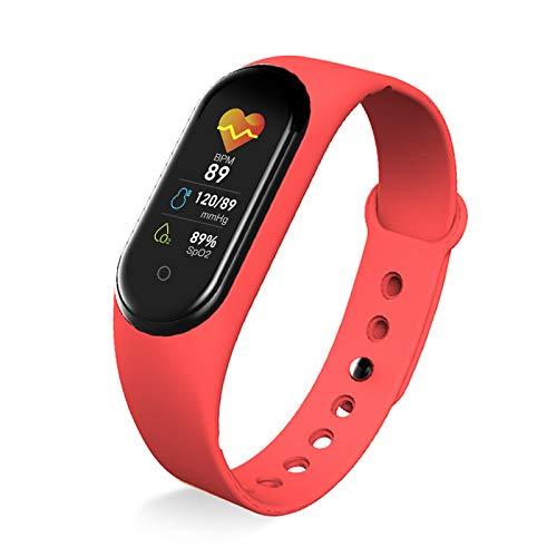 ANSON Pulsera Actividad Inteligente Pulsera Inteligente Bluetooth Smart Band Impermeable IP68 Monitoreo Salud Pulsera Posicionamiento Reloj Deportivo 10+ Modos para Mujer Hombre Niño Android Y iOS