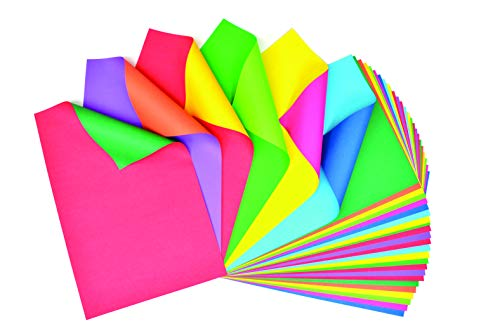 Fadeless Duet Sheets, 6 Assorted Color Combinations, 12' x 18', 30 Sheets