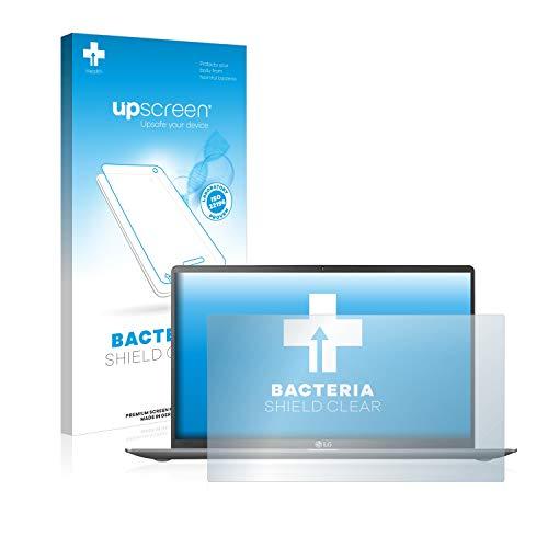 upscreen Antibakterielle Schutzfolie kompatibel mit LG Gram 15'' klare Bildschirmschutz-Folie