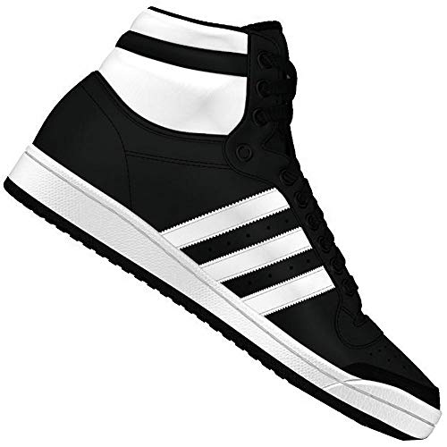 adidas Originals Top Ten Hi Sneaker B34429 Black/White Gr. 42 (UK 8,0)