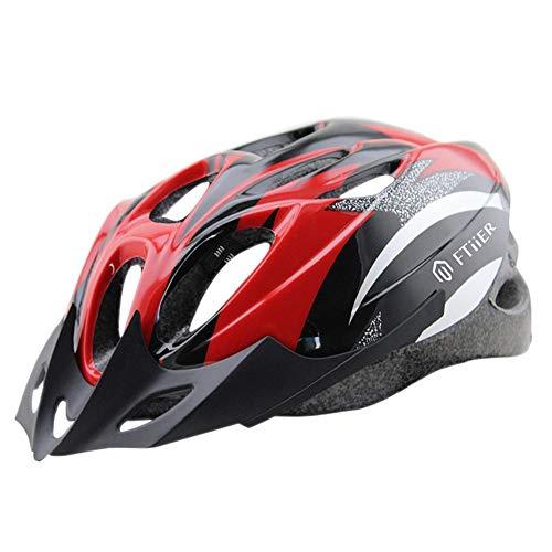 cuepar Fahrradhelm, leichtes Micro-Shell-Design, geeignet für Kopfumfang 56~62 cm, Schweißreduzierung, universell für Erwachsene und Kleinkinder