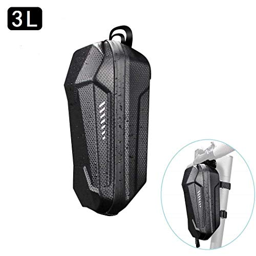 aibiku Universal Waterproof Storage Bag Front Carrying Bag for Xiaomi m365 Electric Scooter, Bicycle Accessories (3L)
