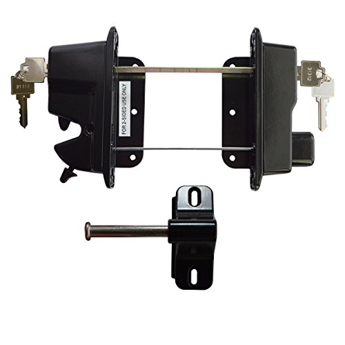 gate latches for double gates