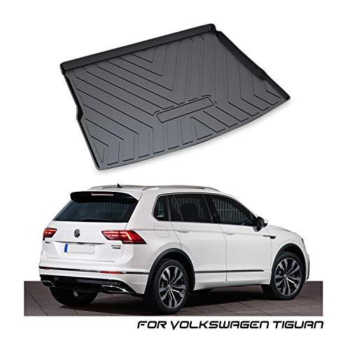 YEE PIN Alfombrilla de goma para maletero, compatible con VW Tiguan 2 (Only...