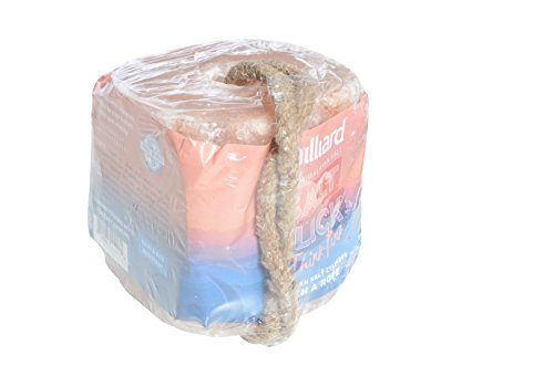 Milliard 6 lb Himalayan Animal Salt Lick for Horses, Deer, and Livestock with Rope