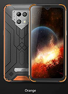 Blackview BV9800 Pro Global First Thermal Imaging Smartphone Helio P70 Android 9.0 6GB+128GB Waterproof 6580mAh Mobile Phone (Yellow)
