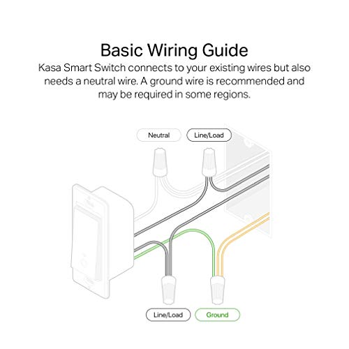 Kasa Smart Light Switch HS200P3, Single Pole, Needs Neutral Wire, 2.4GHz Wi-Fi Light Switch Works with Alexa and Google Home, UL Certified,, No Hub Required, 3-Pack