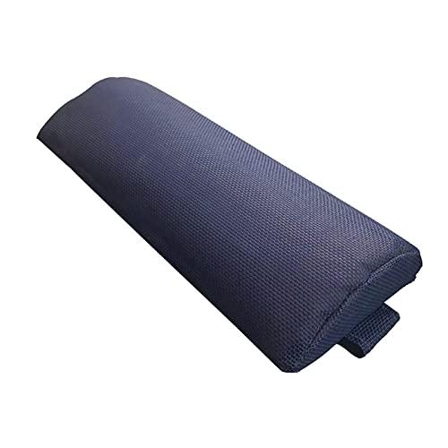 AIHOME Almohada reclinable duradera, ajustable para silla de oficina de coche, cuello redondo, almohada para el hogar, para descanso del almuerzo