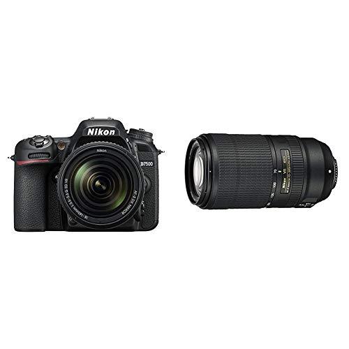 セット買いNikon デジタル一眼レフカメラ D7500 18-140VR レンズキット D7500LK18-140 & 望遠ズームレンズ AF-P NIKKOR 70-300mm f 4.5-5.6E ED VR フルサイズ対応