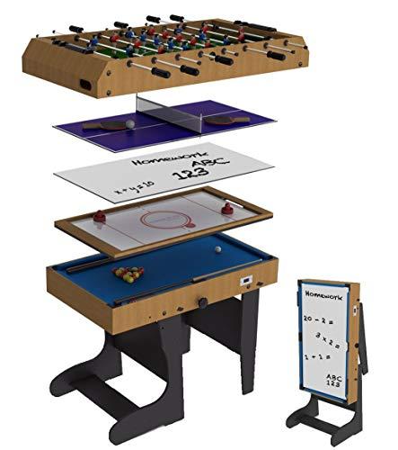 Riley Mesa multijuegos 12 en 1 eléctrica Plegable