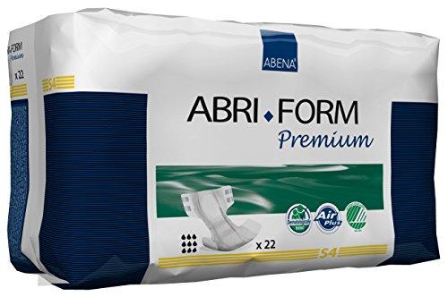 Abena Abri-Form Premium Incontinence Briefs, Small, S4, 22 Count