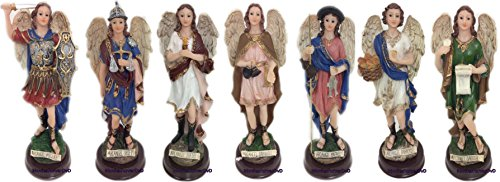 """7 Arcangeles 8.5"""" Inches All 7, 7 Archangels 2454-8.5"""