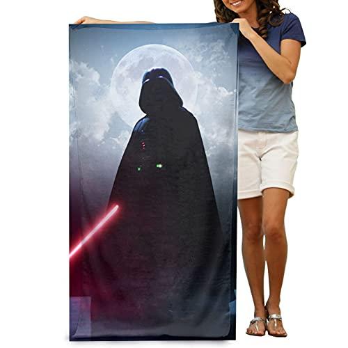Cooper girl Star Wars Lord Vader Toalla de baño grande microfibra suave adulto toalla de natación para viajes