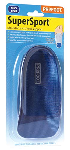 Profoot Super Sport Moulded Arch/Heel Support Men - Cushions & supports...