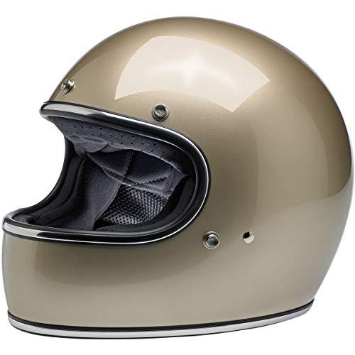 Biltwell Gringo ECE Helmet Adult Street Motorcycle Helmet - Metallic Champagne/X-Large