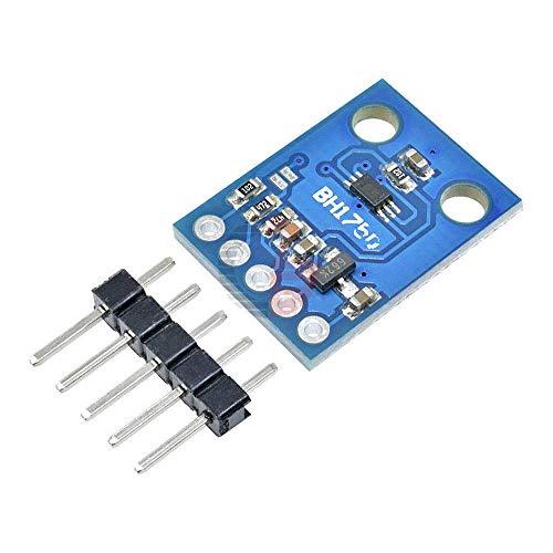 ZTSHBK GY-302 BH1750FVI I2C Digitales Umgebungslichtsensormodul DC 3-5V IR UV-Lichterkennungskarte für Arduino LCD-TV-Kamera für Mobiltelefone