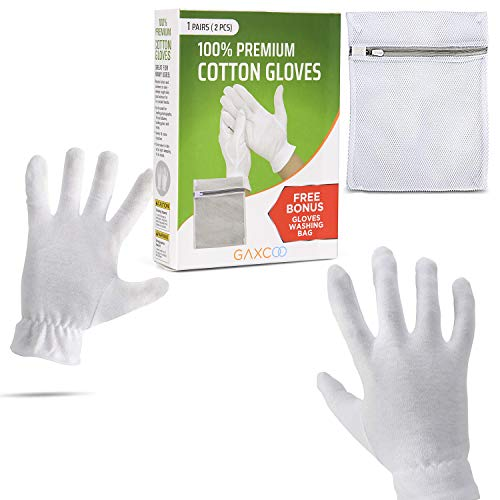 Moisturizing Gloves Overnight Bedtime Cotton  ...