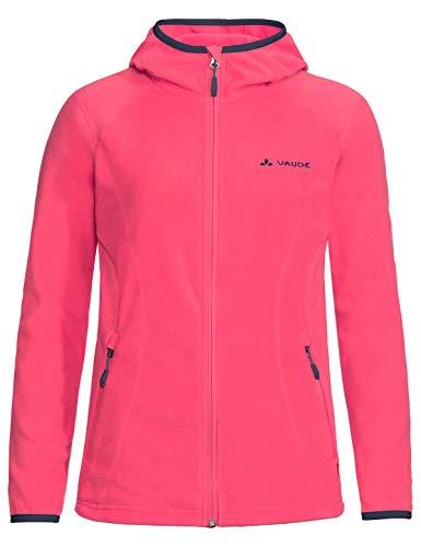 VAUDE Damen Women's Sunbury Hoody Jacket, leichte Fleecejacke Jacke, Bright pink, 34