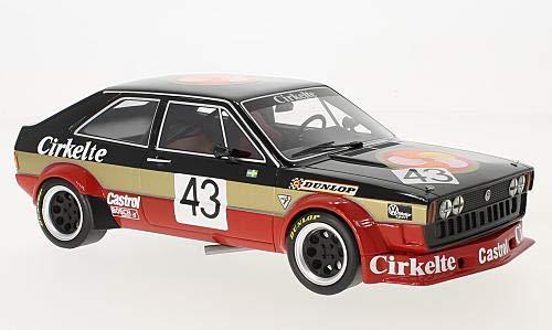 VW Scirocco I Gr.2, No.43, TL Racing AB, Crikelte, ETCC, 1979, Modellauto, Fertigmodell, BoS-Models 1:18