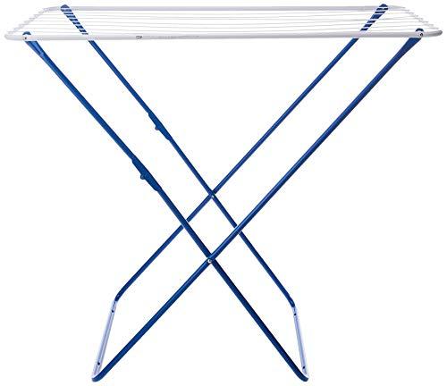 Gimi Plast Tendedero de pie de acero, 10 m de longitud de tendido